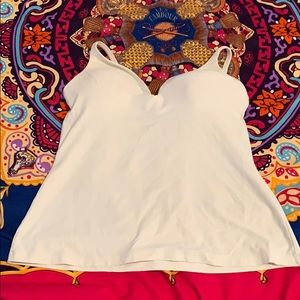 Body by Victoria light cream camisole size 36B